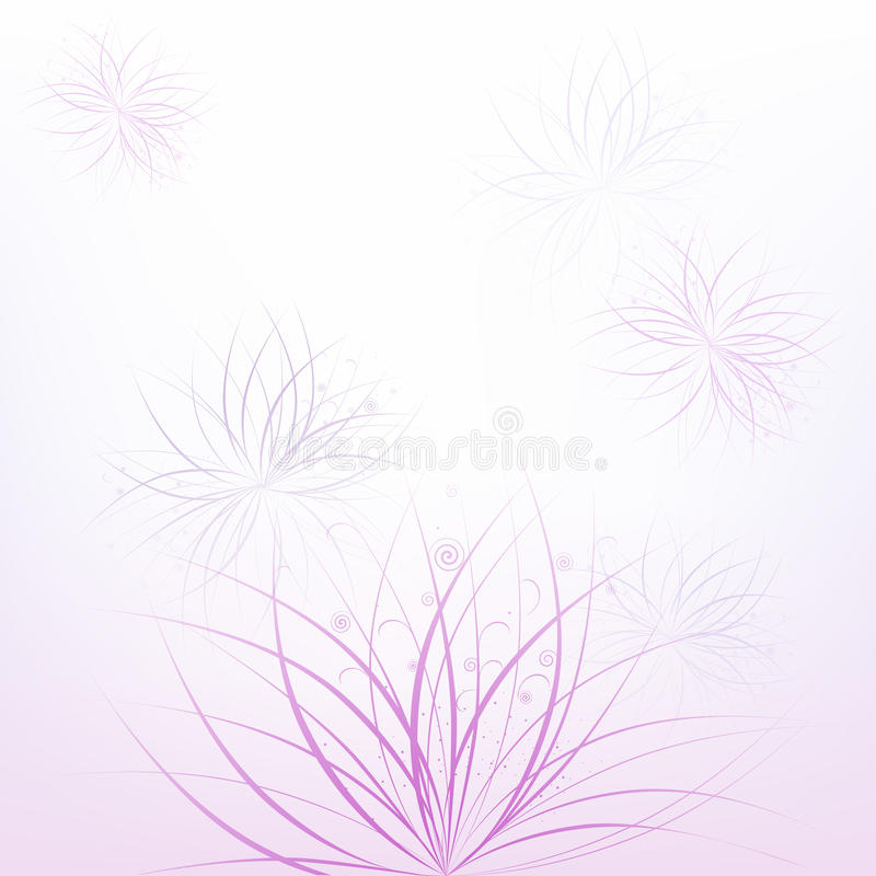 Download Floral abstract background stock vector. Illustration of nature - 15421628