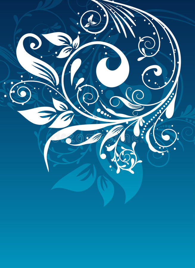 Download Floral Abstract Background, Vector Stock Vector - Image: 11266492