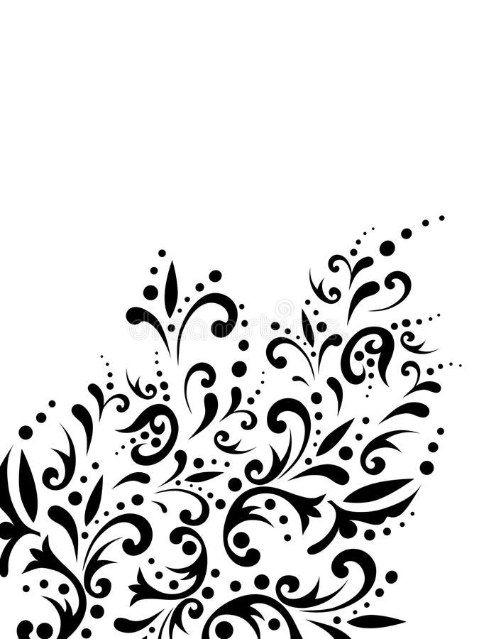 Free Floral Abstract Decoration Stock Photography - 12578122