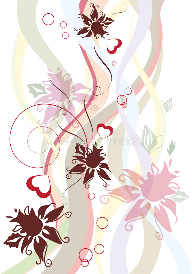 Free Floral Abstract Design Royalty Free Stock Photo - 29024895
