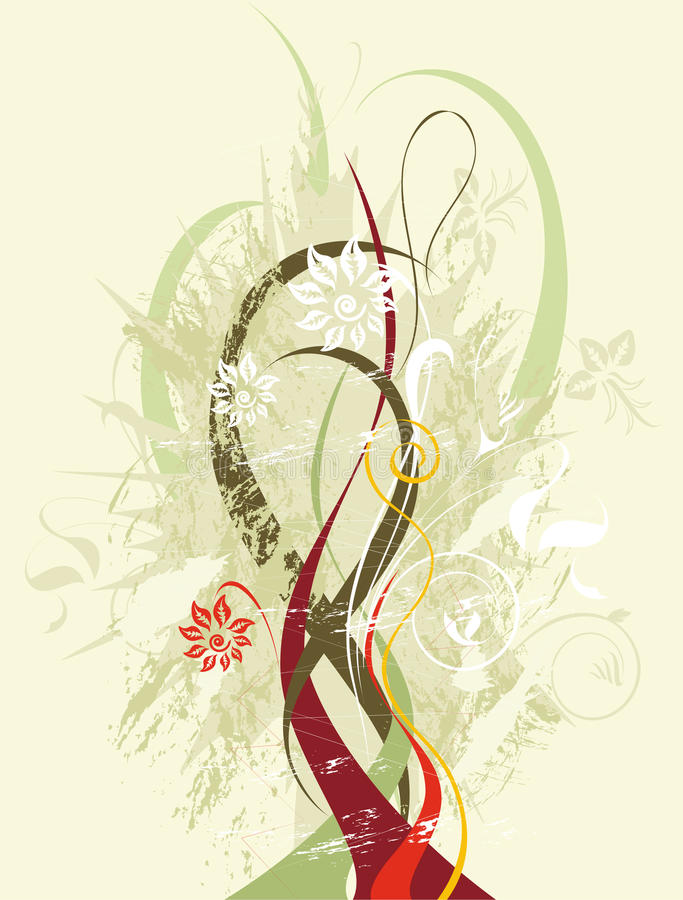 Free Floral Abstract Design Stock Photos - 30257013