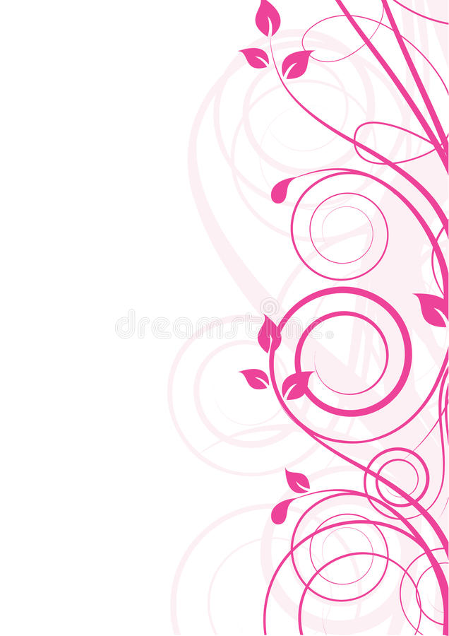 Free Floral Abstract Design Element Royalty Free Stock Photos - 14891048