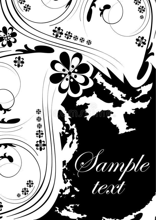 Free Floral Abstract Design Element Royalty Free Stock Image - 9049376