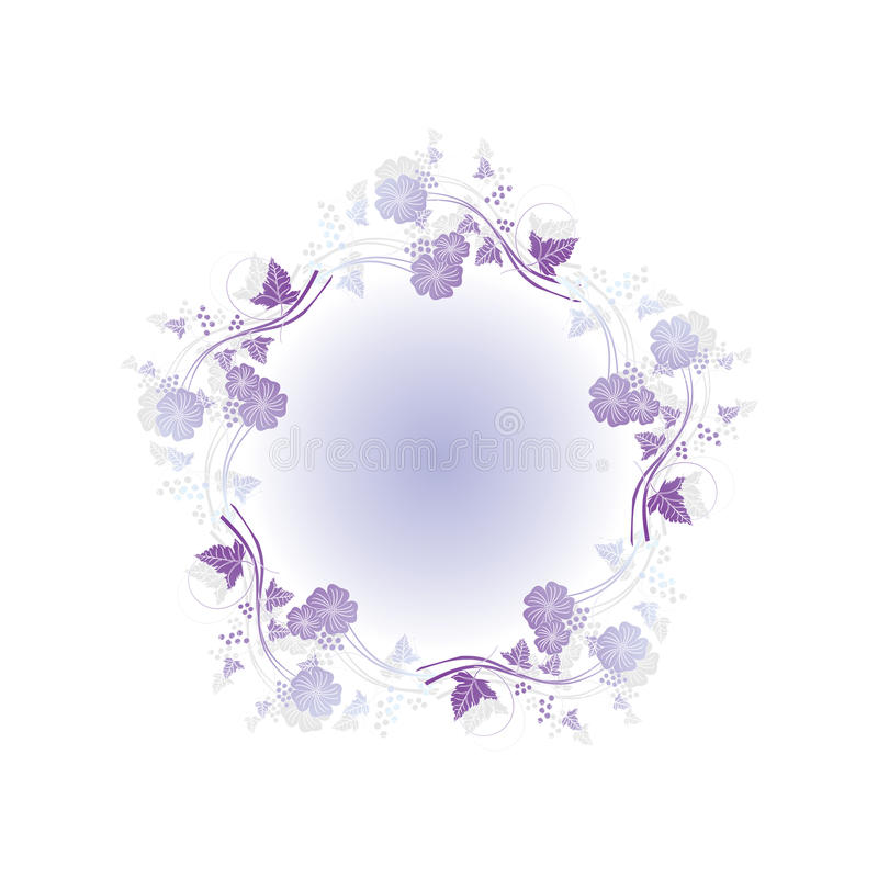 Free Floral Abstract Design Element Royalty Free Stock Photos - 9858758
