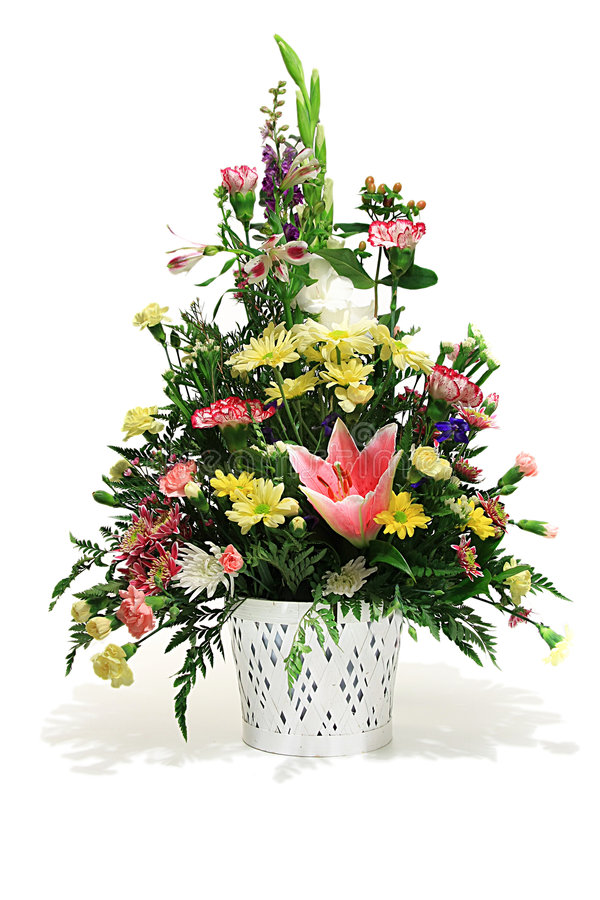 Download Floral arrangement stock image. Image of decorative, aster - 5392659