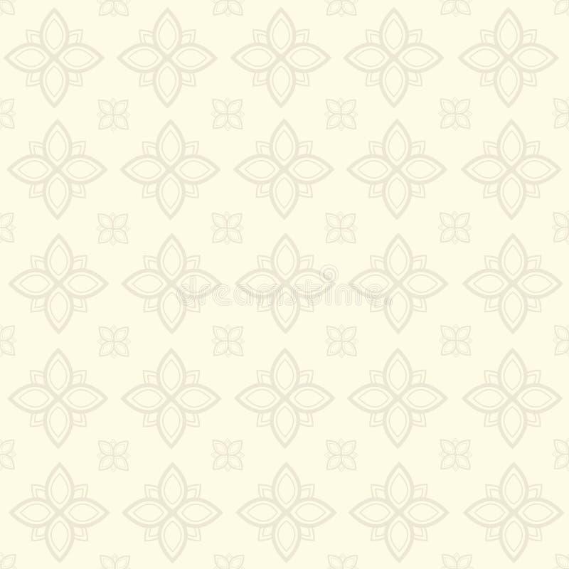 Line Thai Thai Style Pattern Seamless Background ,Vector
