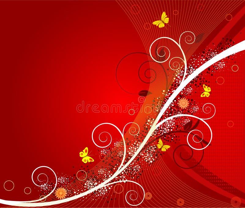 Download Floral  Artistic Design Background Stock Vector - Image: 4704852