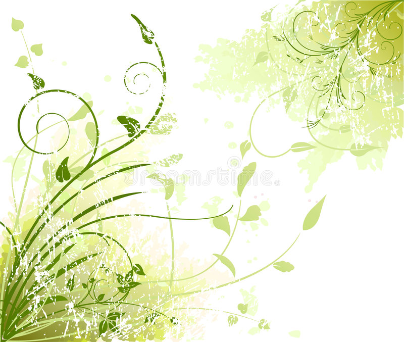 Floral artistic vector background. Floral artistic vector design background vector illustration