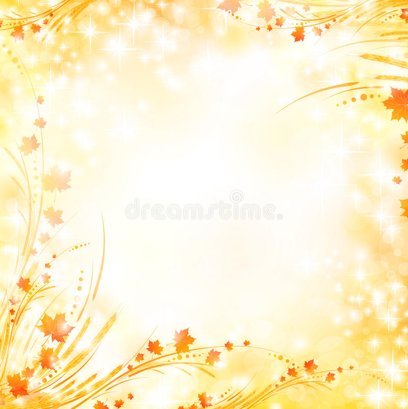 Download Floral autumn background stock vector. Image of harmony - 16974264