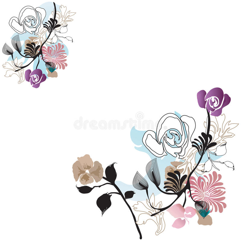 Download Floral background stock vector. Image of graphic, spring - 12710128