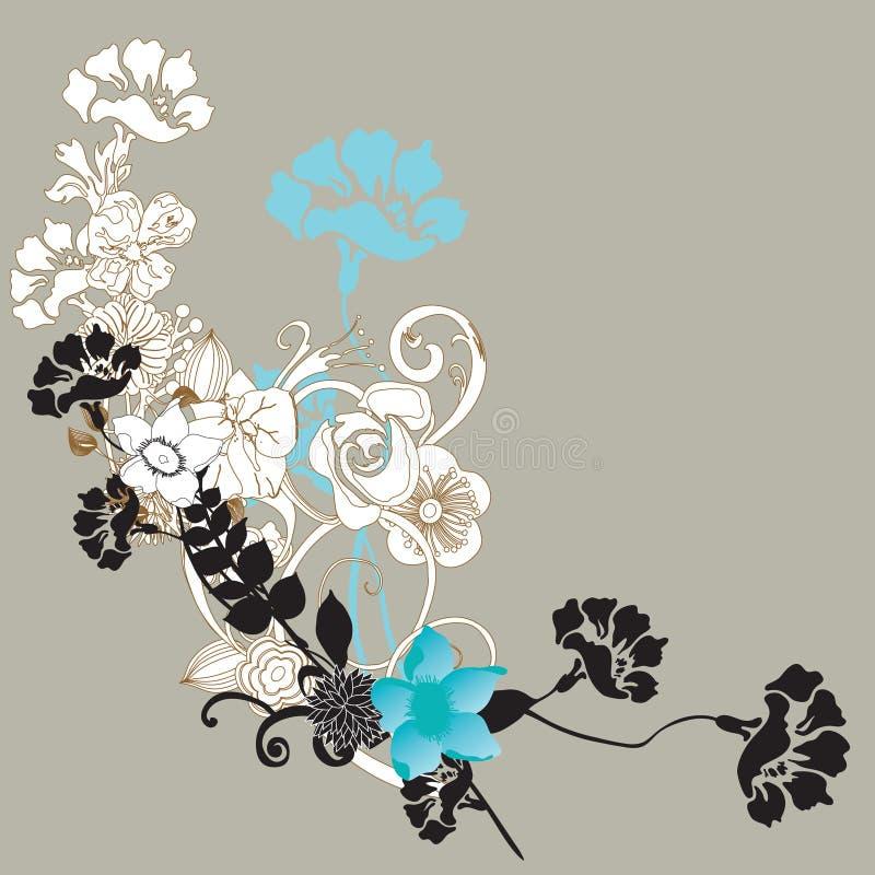 Download Floral background stock illustration. Image of vector - 12710137