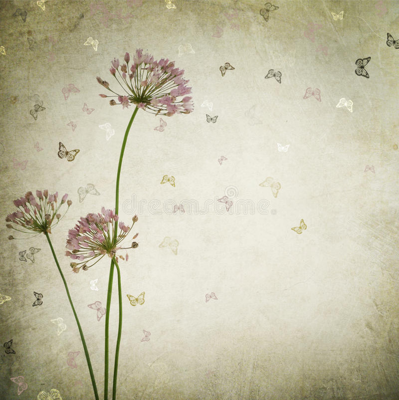 Floral Background. Beautiful Vintage Floral Background.With copy space vector illustration