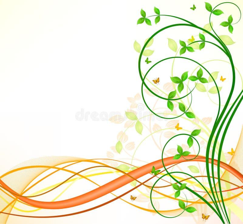 Download Floral background stock vector. Image of ornate, leaf - 14854719