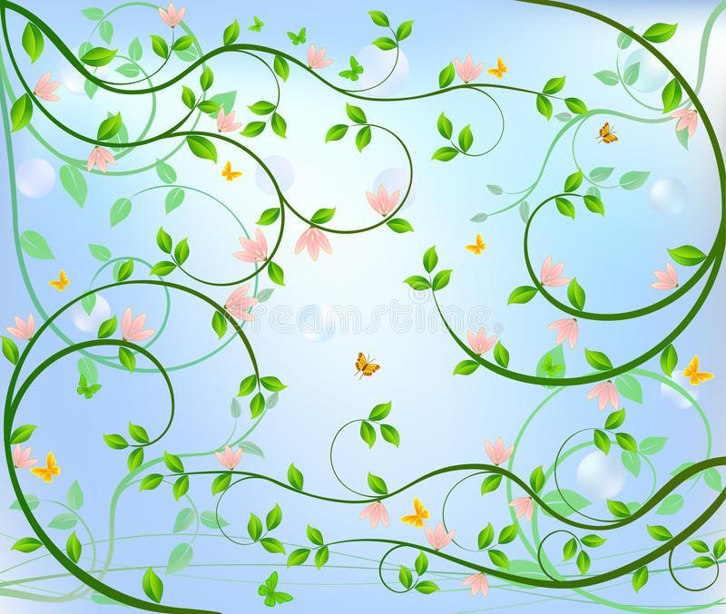 Download Floral  Background Stock Photography - Image: 14991952