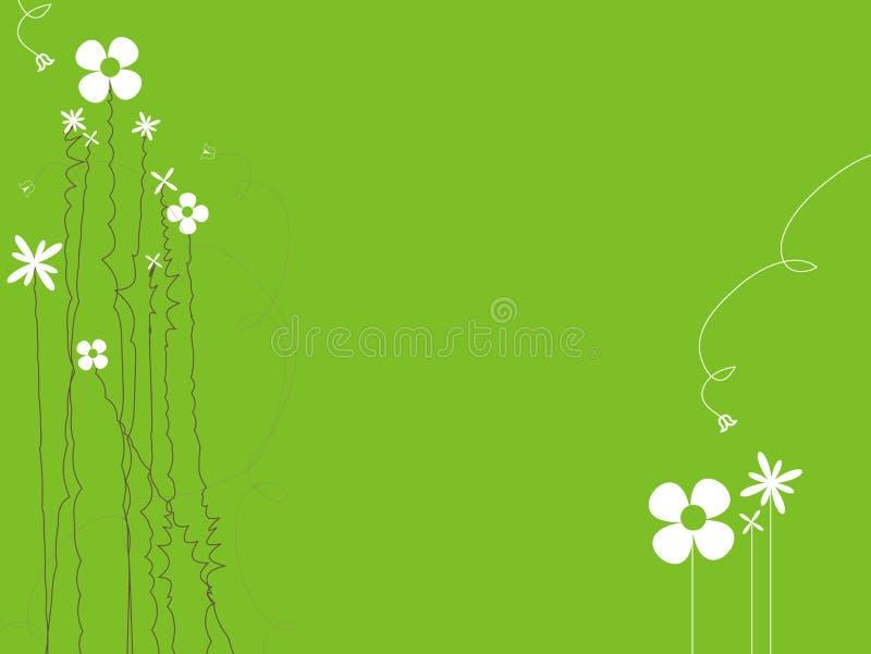 Download Floral background stock illustration. Illustration of grass - 17208456