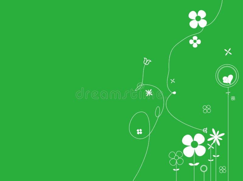 Download Floral background stock illustration. Illustration of flourishes - 17208495