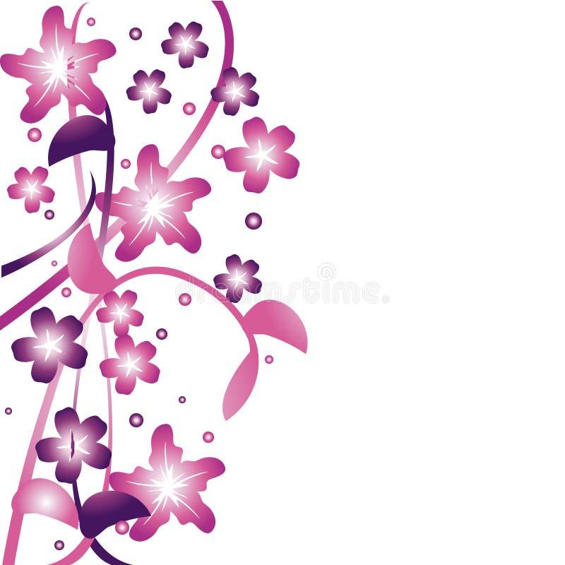 Floral background 2 royalty free illustration