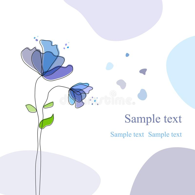 Floral Background Stock Images