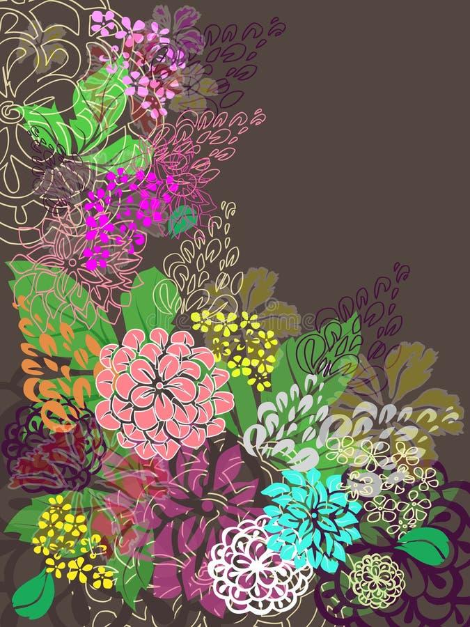 Download Floral background stock vector. Image of transparent - 21011427