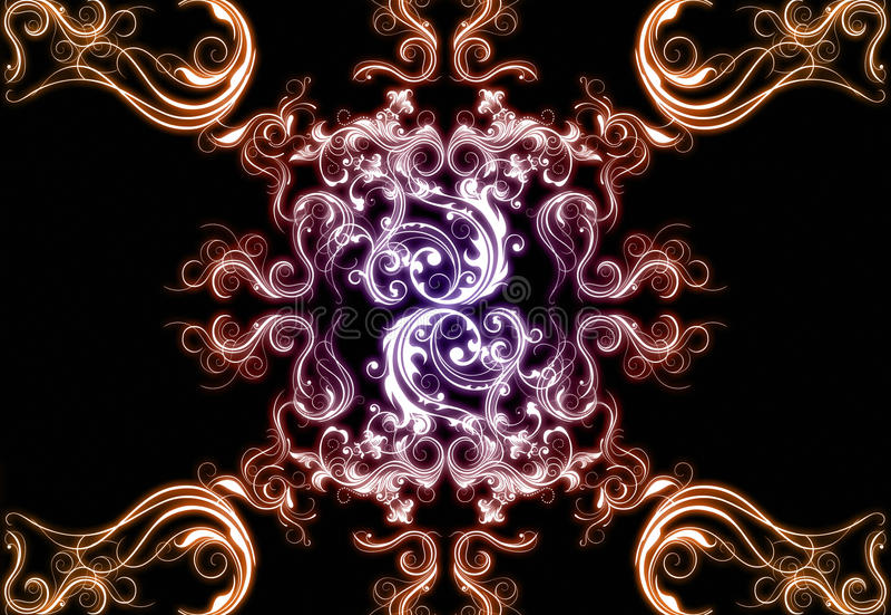 Download Floral background stock illustration. Illustration of background - 21662062