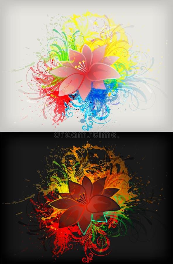 Download Floral background stock illustration. Illustration of eps10 - 23500456