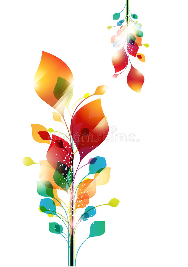 Floral background. stock illustration