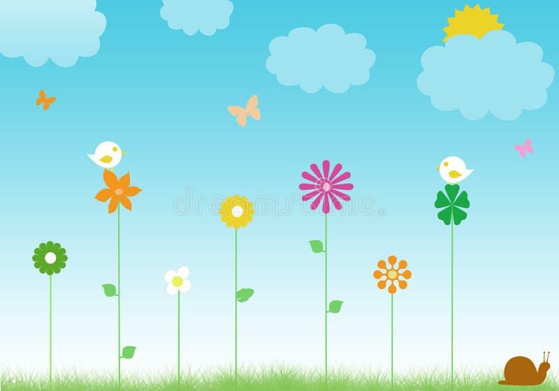 Download Floral background stock illustration. Illustration of background - 23861935