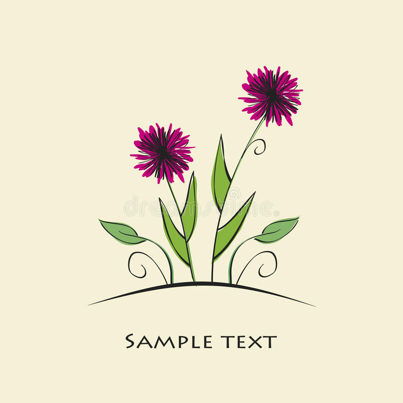 Download Floral background stock vector. Image of motif, floral - 24353744