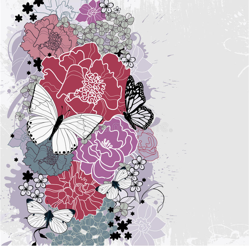 Download Floral background stock vector. Illustration of abstract - 24893500