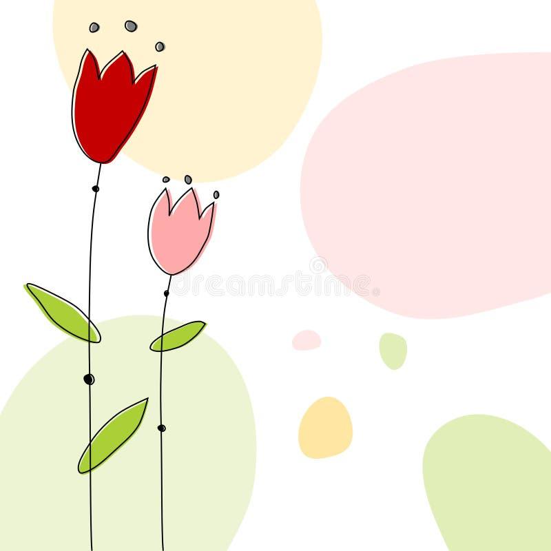 Download Floral background stock illustration. Image of pastel - 25172405