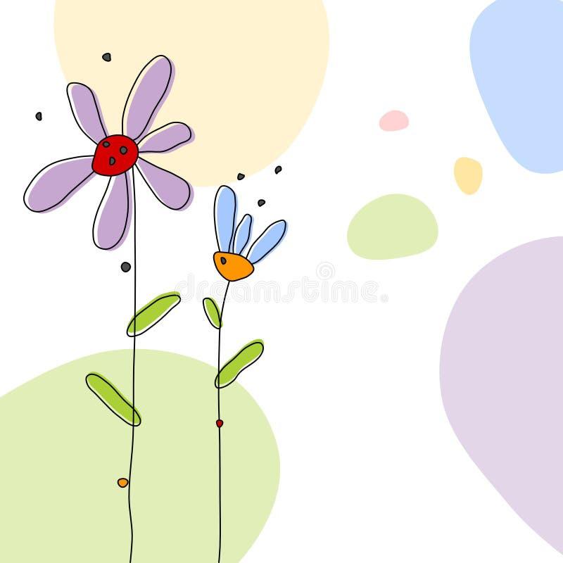 Download Floral background stock illustration. Image of draw, easter - 25185201