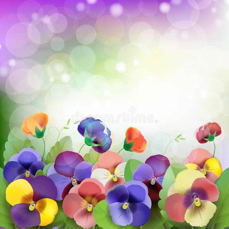Download Floral background stock illustration. Image of bouquet - 25834017