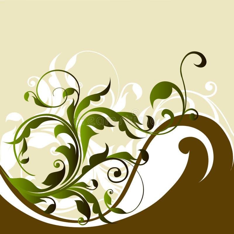 Floral background. Illustration drawing of floral background royalty free illustration