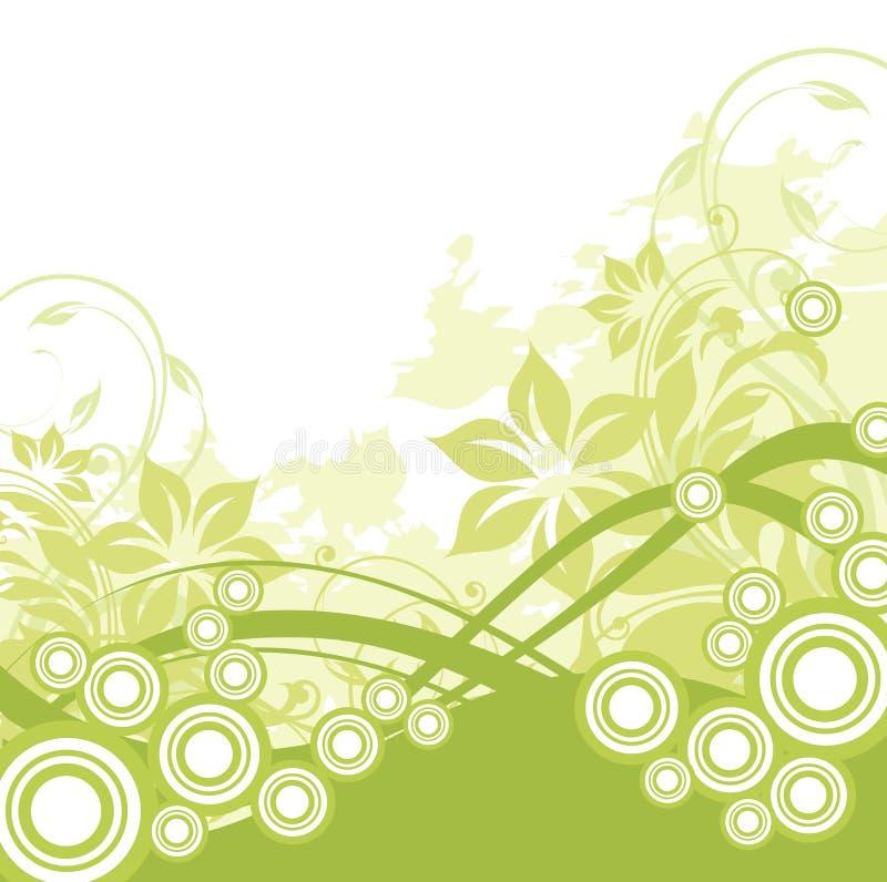 Floral background. Illustration drawing of floral background vector illustration