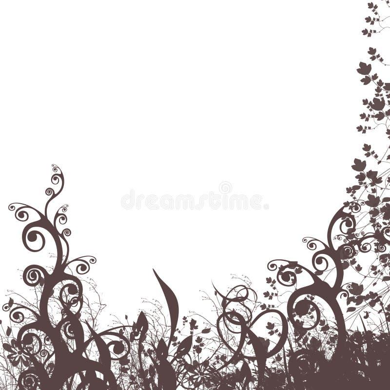 Floral background #3 vector illustration