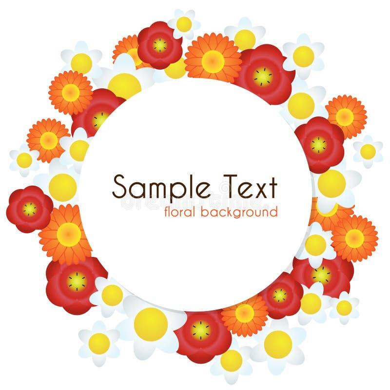 Download Floral background stock illustration. Illustration of bright - 37981308