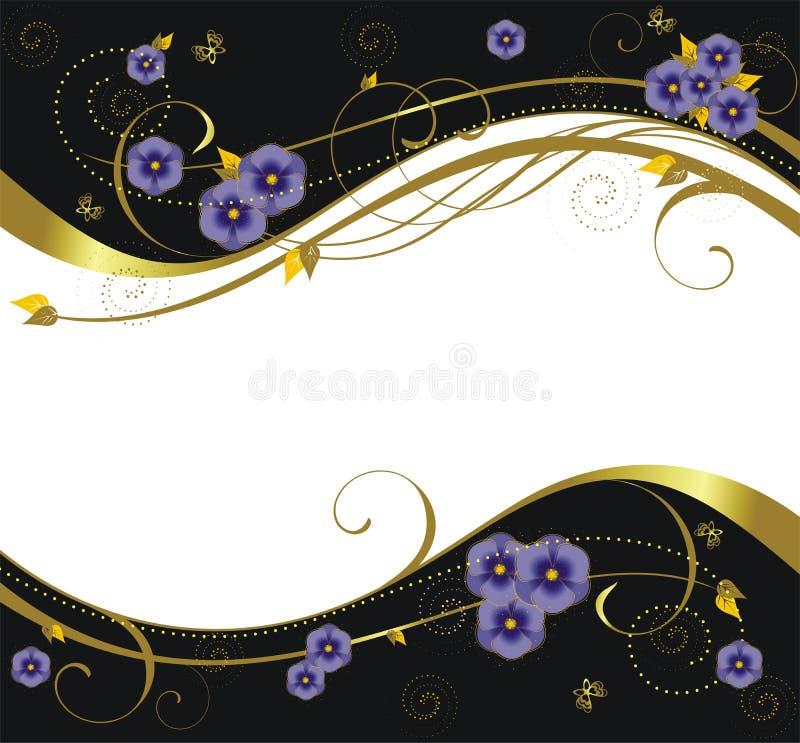 Floral background9 ελεύθερη απεικόνιση δικαιώματος