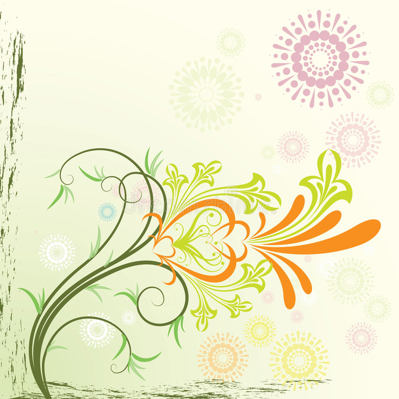 Download Floral background stock vector. Image of element, nature - 4065601