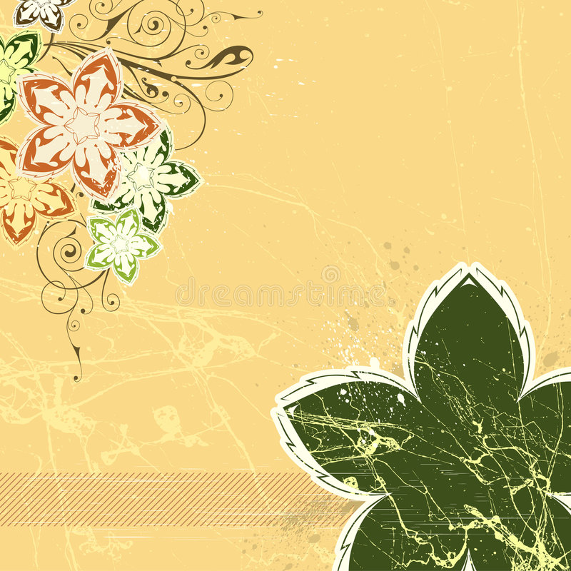 Free Floral Background Royalty Free Stock Image - 4442726