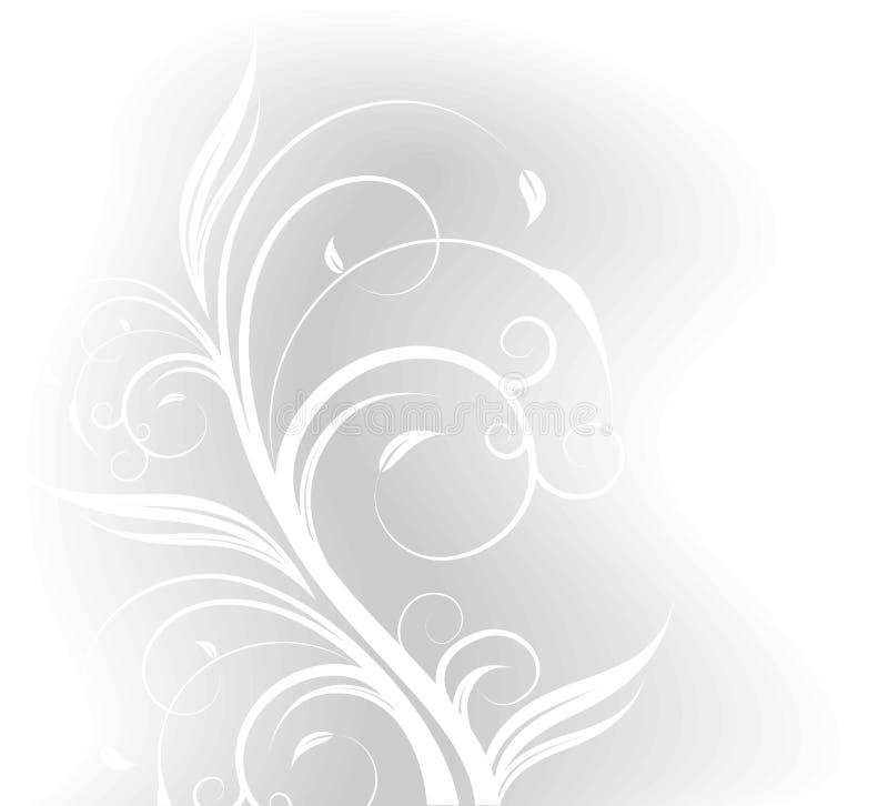 Floral background. Clear floral illustration on background vector illustration