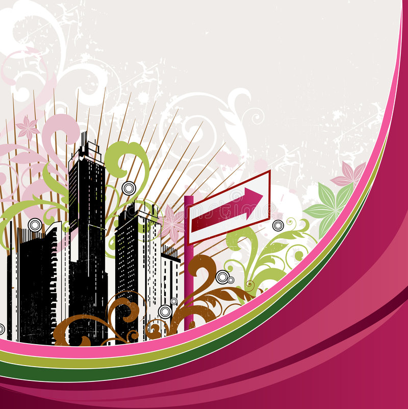 Download Floral background stock vector. Image of design, modern - 5706175