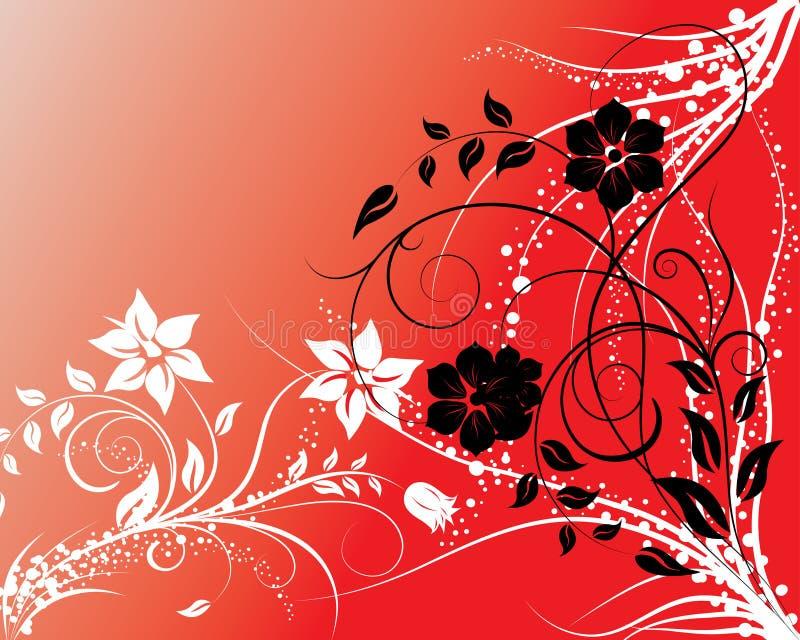 Floral background royalty free illustration