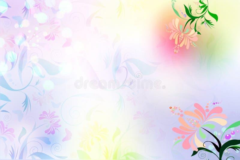 Download Floral background stock illustration. Image of flower - 8998237