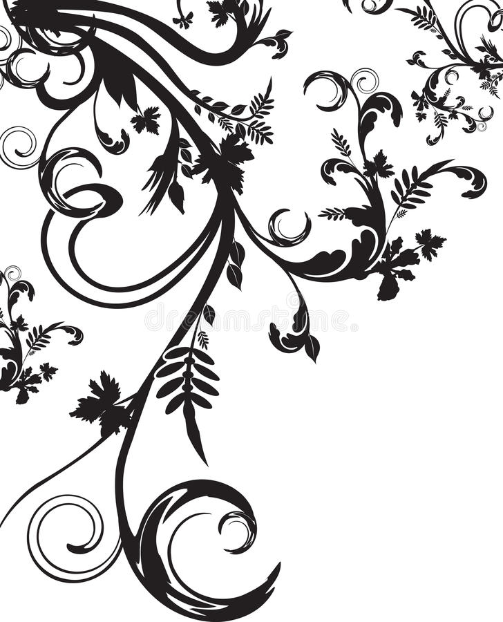 Free Floral Background Royalty Free Stock Photography - 9543607