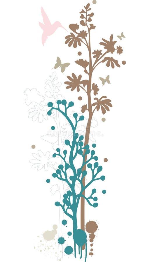 Download Floral background design stock vector. Image of blossom - 5644731