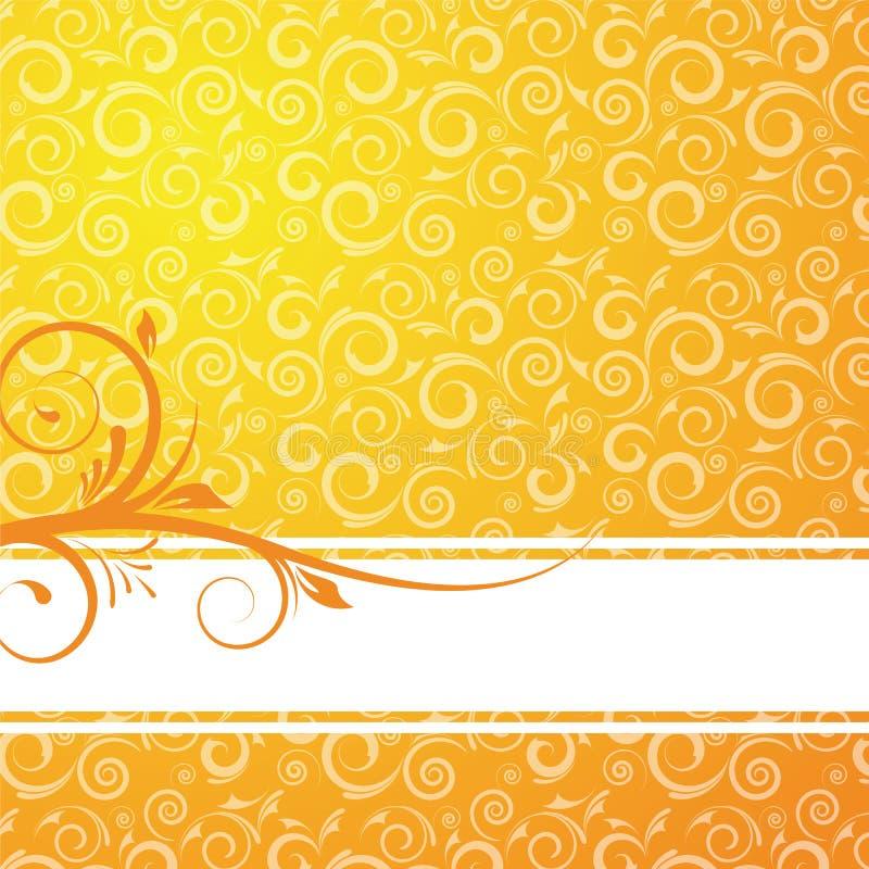Floral background for design vector illustration
