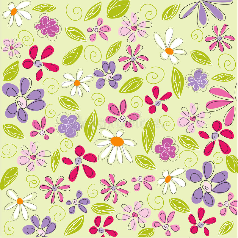 Download Floral background, easter stock vector. Image of holiday - 23541879