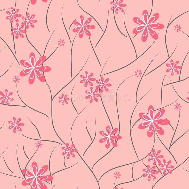 Download Floral Background. Flower Seamless Texture Stock Vector - Illustration of floral, style: 23875076