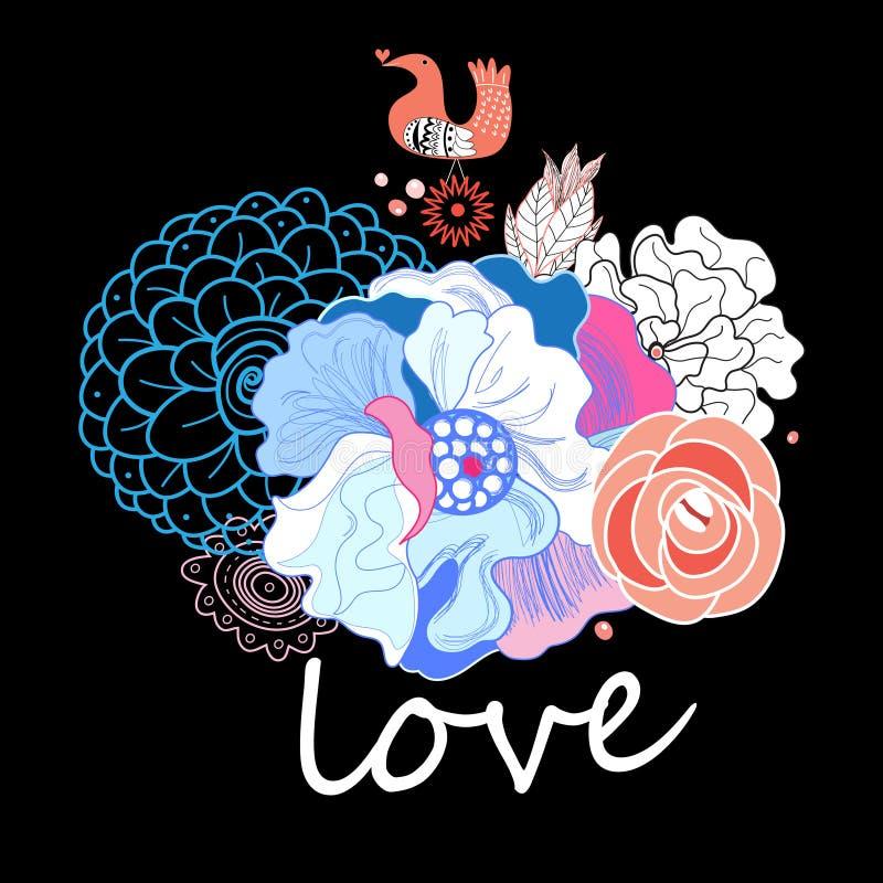 Download Floral background stock vector. Illustration of bloom - 42061943