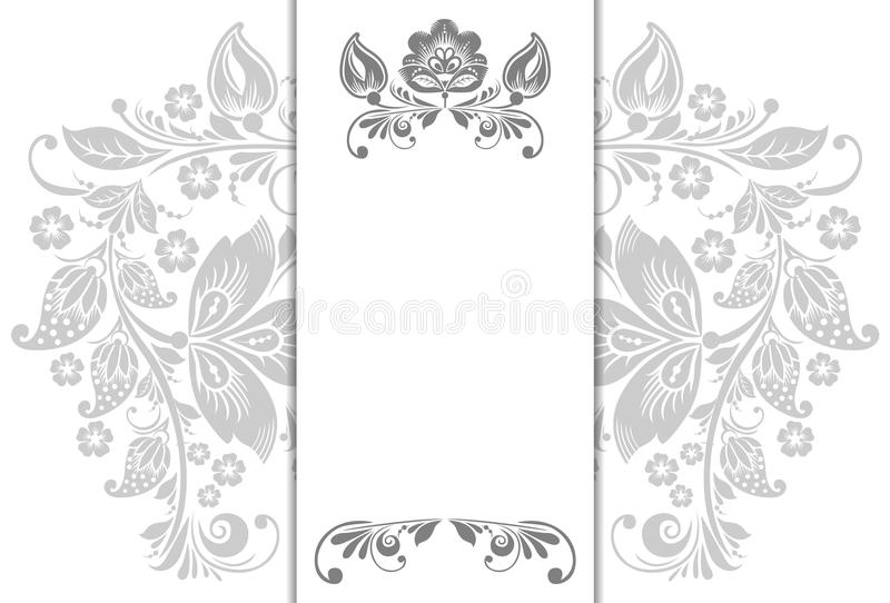 Download Floral Background, Greeting Card Stock Vector - Image: 40066206